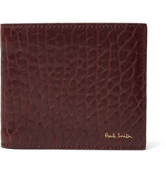 Paul Smith Grained-Leather Billfold Wallet