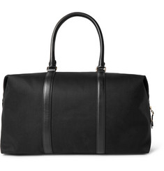 Paul Smith - Leather-Trimmed Canvas Holdall