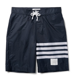 Thom Browne Striped Long-Length Swim Shorts