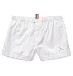 Thom Browne Cotton-Poplin Boxer Shorts