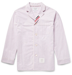 Thom Browne - Striped Cotton Oxford Pyjama Shirt