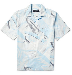 Rag & bone - Kingston Camp-Collar Printed Cotton Shirt