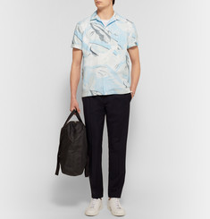 Rag & bone Kingston Camp-Collar Printed Cotton Shirt