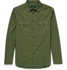 Rag & bone Jack Slim-Fit Cotton-Twill Shirt