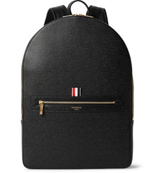Thom Browne - Pebble-Grain Leather Backpack