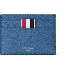 Thom Browne - Pebble-Grain Leather Cardholder