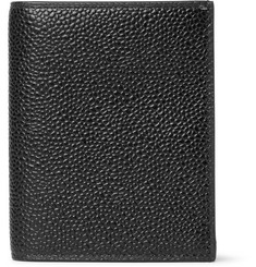 Thom Browne - Pebble-Grain Leather Bifold Cardholder