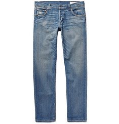 Rag & bone Slim-Fit 2 Distressed Stretch-Denim Jeans