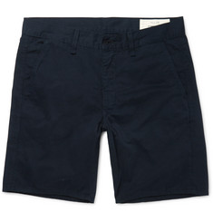Rag & bone - Washed Cotton-Twill Chino Shorts
