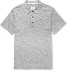 Rag & bone Knitted Cotton-Blend Polo Shirt
