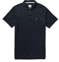 Rag & bone Standard Issue Cotton-Blend Polo Shirt