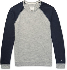Rag & bone - Two-Tone Cotton-Blend Jersey T-Shirt