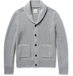 Rag & bone - Avery Shawl-Collar Textured-Knit Cotton Cardigan