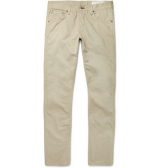 Rag & bone - Washed Cotton-Twill Chinos