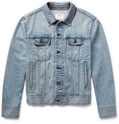 Rag & bone - Standard Issue Washed Stretch-Denim Jacket