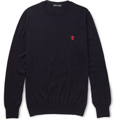 Alexander McQueen Slim-Fit Cashmere Sweater