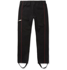 Alexander McQueen Tapered Contrast-Piped Stretch-Cotton Jersey Sweatpants