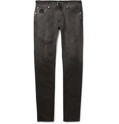 Alexander McQueen - Skinny-Fit Dégradé Stretch-Denim Jeans