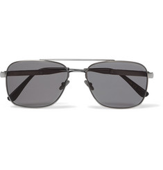 Bottega Veneta - Aviator-Style Metal Sunglasses