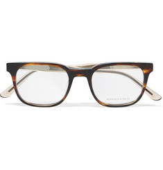 Bottega Veneta - Square-Frame Tortoiseshell Acetate Optical Glasses