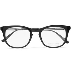 Bottega Veneta Conic Titanium D-Frame Acetate Optical Glasses