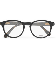 Brioni Round-Frame Acetate Optical Glasses