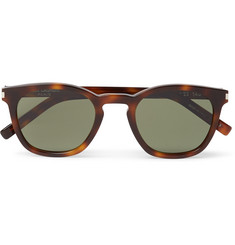 Saint Laurent D-Frame Tortoisehshell Acetate Sunglasses