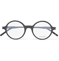 Saint Laurent - Round-Frame Acetate Optical Glasses