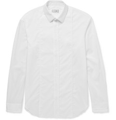 Maison Margiela Pleat-Detailed Cotton Shirt