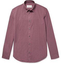 Maison Margiela - Slim-Fit Garment-Dyed Cotton Shirt
