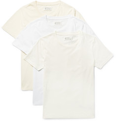 Maison Margiela - Three-Pack Slim-Fit Cotton-Jersey T-Shirts