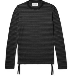 Maison Margiela Striped Stretch-Jersey T-Shirt