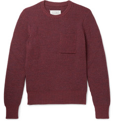 Maison Margiela Ribbed-Knit Sweater