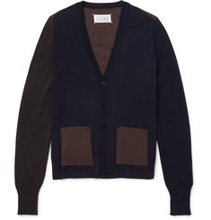 Maison Margiela - Two-Tone Wool Cardigan