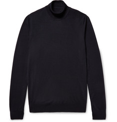 Maison Margiela Merino Wool Rollneck Sweater