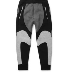 Neil Barrett Tapered Bonded Jersey Sweatpants