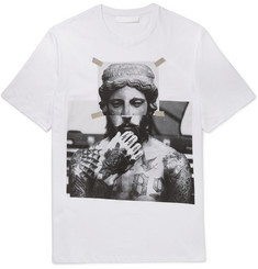 Neil Barrett Printed Cotton-Jersey T-Shirt