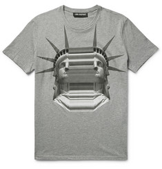 Neil Barrett - Printed Cotton-Jersey T-Shirt