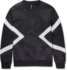 Neil Barrett Modernist Panelled Jersey Sweatshirt