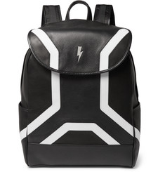 Neil Barrett Leather Backpack