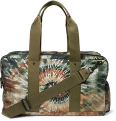Valentino Studded Tie-Dyed Canvas Holdall