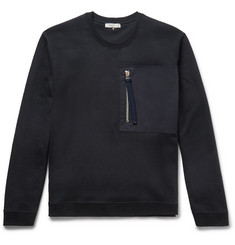 Valentino Loopback Cotton-Jersey Sweatshirt