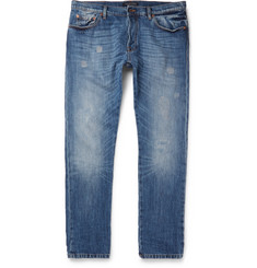 Valentino Distressed Denim Jeans
