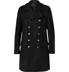 Dolce & Gabbana Slim-Fit Double-Breasted Wool-Blend Coat