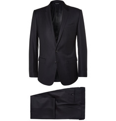 Dolce & Gabbana Blue Martini Slim-Fit Virgin Wool and Silk-Blend Suit