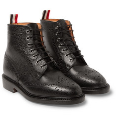 Thom Browne - Leather Wingtip Brogue Boots