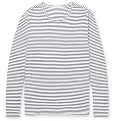 Club Monaco - Slim-Fit Striped Cotton T-Shirt
