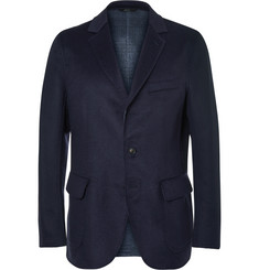 Brioni - Navy Double-Faced Wool, Silk and Cashmere-Blend Blazer
