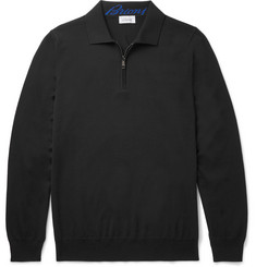 Brioni Wool Polo Shirt