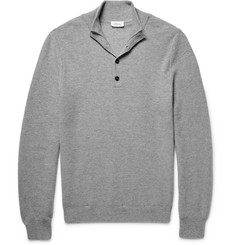 Brioni Honeycomb-Knit Cashmere Sweater